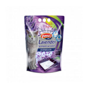 Panzi Silica Cat macskaalom - levendula 3.8L