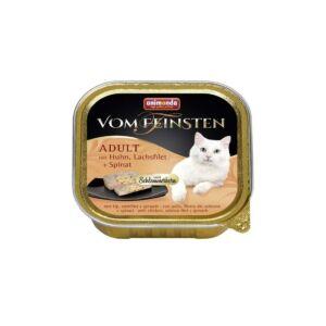 Animonda Vom Feinsten - Adult (csirke, lazacfilé, spenót) 100g