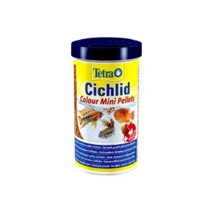 Tetra Cichlid Colour Mini Pellets 500ml
