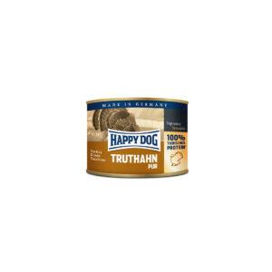 Happy Dog Pur pulykahúsos konzerv 200g