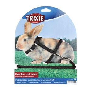 Trixie Hám+póráz nyúl fém csattal