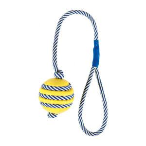 Trixie Gumilabda foszforeszkáló kötéllel 40/5cm