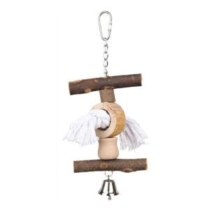 Trixie Csőrkoptató csengővel 20cm