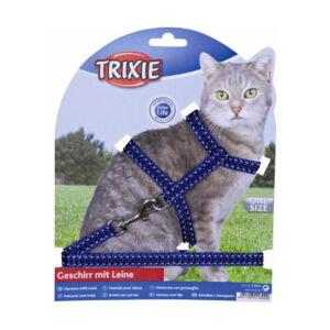 Trixie Hám+póráz macska fényvisszaverő