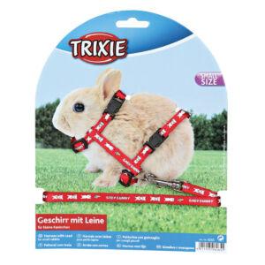 Trixie Hám+póráz kölyök nyúl mintás