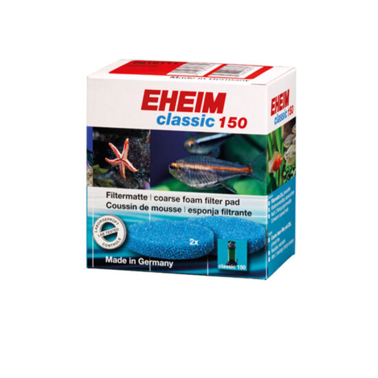 Eheim Durva szűrőpárna (kék) 2db Classic 150 szűrőhöz
