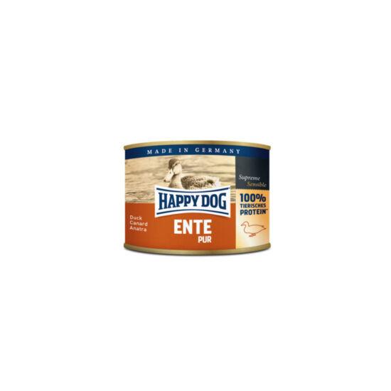 Happy Dog Pur kacsahúsos konzerv 200g