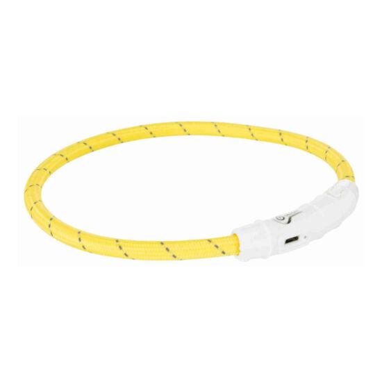 Trixie Nyakörv világító sárga L-XL